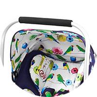 Оборудовано удобной ручкой для переноски малыша, не доставая его из автокресла