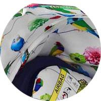 Чехлы из прочной ткани пригодны для чистки и стирки