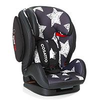 две подвижные части сиденья позволяют трансформировать кресло во время роста ребенка;