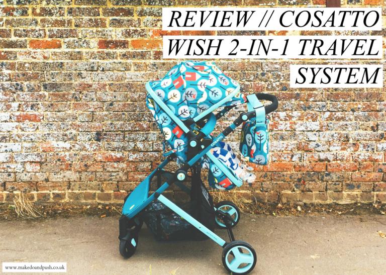 фото коляски Cosatto Wish 2 в 1