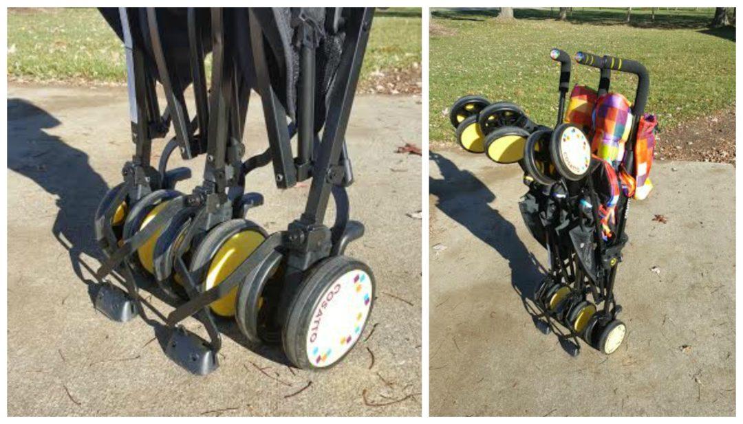 фото коляски для двойни Cosatto Supa Dupa Go