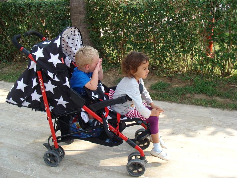фото коляски Косатто Shuffle Tandem