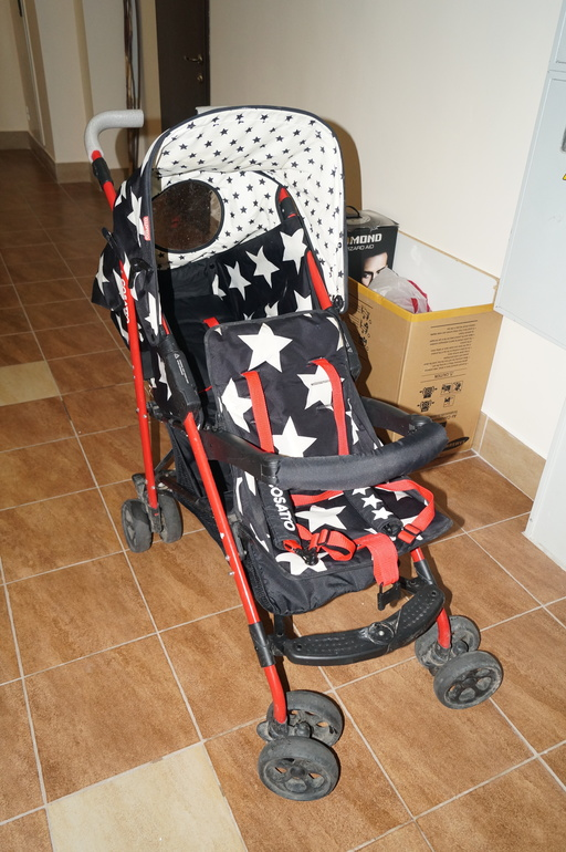фото коляски для двойни Косатто Shuffle Tandem